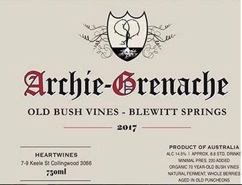 Archie Old Vine Grenache